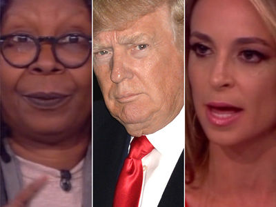 'The View' Hosts Tear Donald Trump Up Over Trans Bathroom Decision: See Livid Video Now