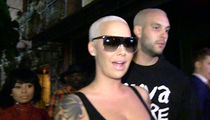 Amber Rose Says She's Not Banging Kevin Durant (Video)