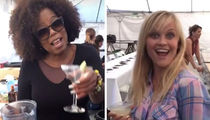 Oprah Pours Margaritas for 'Wrinkle in Time' Cast at Wrap Party (VIDEO)