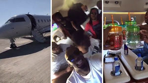 USAIN BOLT -- ULTIMATE PRIVATE JET TURN UP... Carnival, Here We Come!