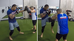 GREG HARDY -- MMA TRAINING SESSION VIDEO...Speed & Power On Display