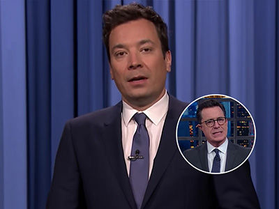 Jimmy Fallon and Stephen Colbert Rip Trump Apart Over Inability to Speak (Video)