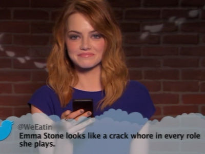 Stone, Gosling, Casey Affleck & More BURNED with Special Oscar's Mean Tweets -- This Is BRUTAL!