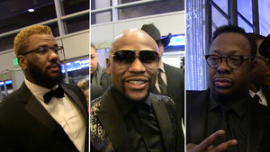 FLOYD MAYWEATHER -- 40TH BIRTHDAY BASH...Features Mariah and Bieber