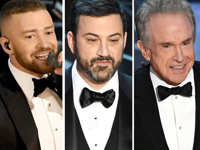 The Only 11 Oscar Moments Anyone's BUZZING About: Trump & Damon Burns, Best Picture MESS &…