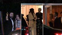 Vanity Fair Draws HUUUUGE Stars to Oscars After-Party (VIDEO)