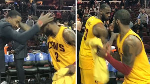 CLEVELAND CAVS HANDSHAKE GAME STILL ON POINT