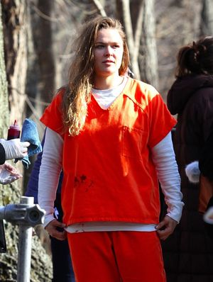 Ronda Rousey Pumped Up In Prison Garb ... On 'Blindspot' Set