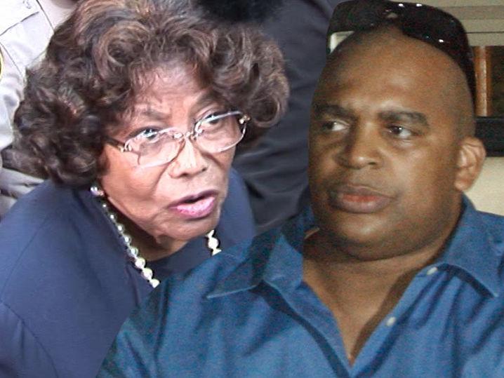 Katherine Jackson dice sobrino Trent Jackson Set hasta cámaras ocultas que espía en su