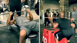 Adrian Peterson BEASTING OUT In Gym ... I'm NOT On a Decline