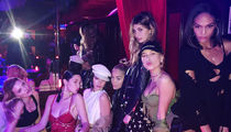 Bella Hadid, Kendall Jenner Hit Paris Strip Club with Model Pals (PHOTOS)