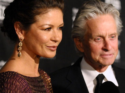 Catherine Zeta-Jones Shares RARE Photo with Her & Michael's Gorgeous Kids!