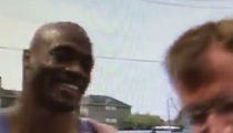 Adrian Peterson Does Local News Interview ... Reporter Has No Idea (VIDEO + PHOTO)