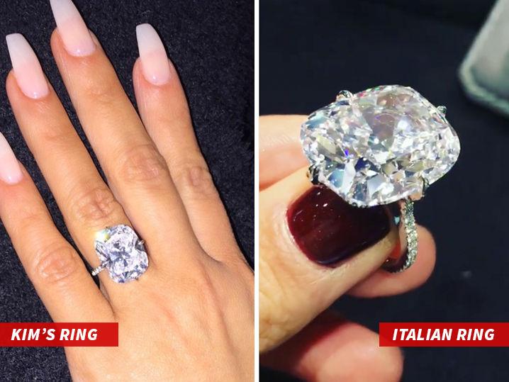 Kim Kardashian Wests Stolen Ring Not So Unique