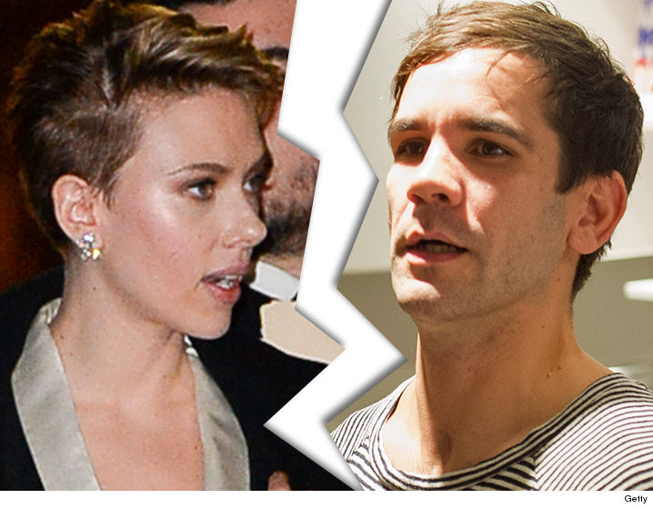 It's splitsville for Scarlett Johansson and Romain Dauriac