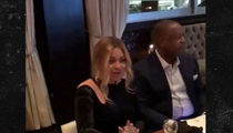 Beyonce Blesses Rodney Peete ... You May Dine at My Table! (VIDEO + PHOTO)