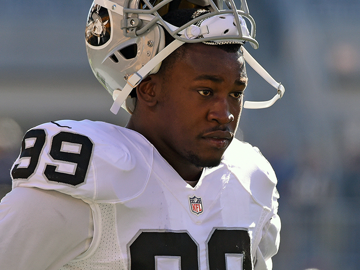 Raiders LB Aldon Smith detained after auto incident with cops