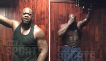 Shaq Fires Back at Big Show ... I GOT ABS TOO! (VIDEO)