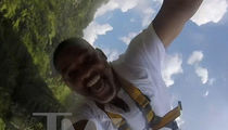 Will Smith Goes Bungee Jumping and It's AWESOME!! (VIDEO)