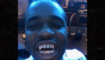 A$AP Ferg's Colorful Smile Is Pope-Inspired (PHOTOS)