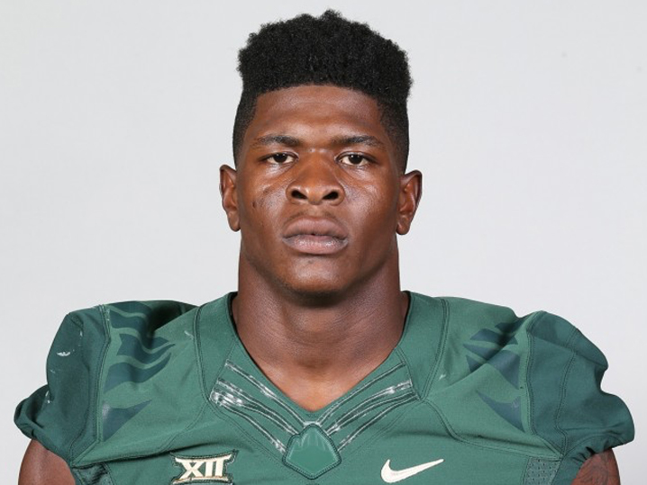 Former Baylor football player arrested in Las Vegas