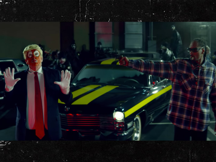 Instead Of Anti-Semitism Or TrumpCare, Cheeto Comes For Snoop Dogg