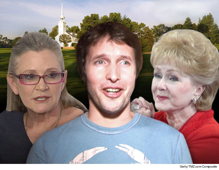 0314-carrie-fisher-debbie-reynolds-james-blunt-memorial-TMZ-GETTY-01