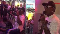 Dennis Rodman Street Performing In Vegas (VIDEO)