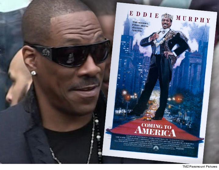 Eddie Murphy teases plans to shoot a 'Coming to America' sequel