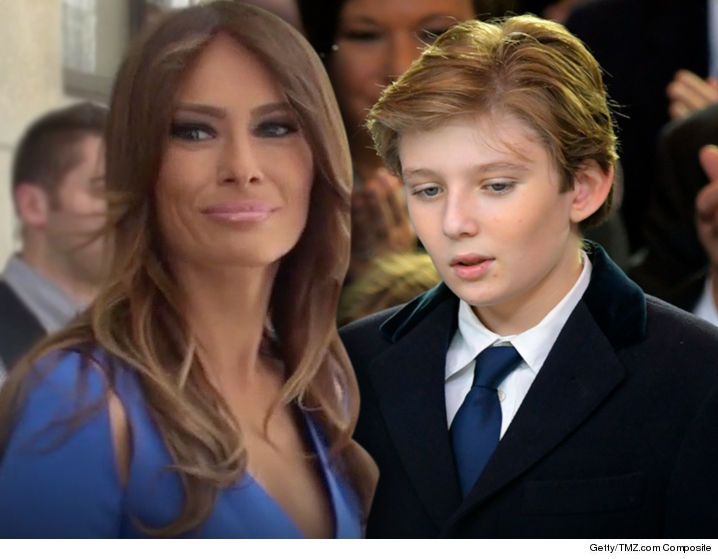 Melania & Barron Trump ARE Moving To The White House This Summer!