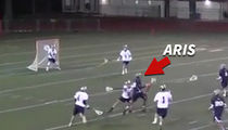 Jim Brown's Son BEASTING OUT ... As Lacrosse Prodigy! (VIDEO)