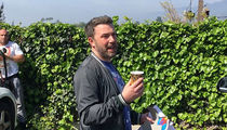 Ben Affleck Asks Paparazzi to Help Him Dodge L.A. Marathon (VIDEO)