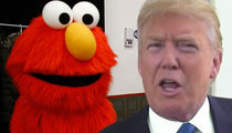 Elmo Reacts to Getting 'Fired' By Donald Trump (VIDEO)