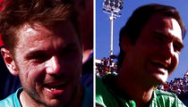 Roger Federer's Opponent Calls Him 'A-Hole' After Tennis Match (VIDEO)