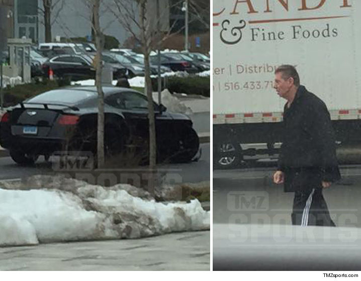 Vince McMahon involved in a auto crash