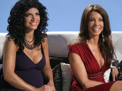 Danielle Staub IS BACK! See Her NOW In 1st Photos Filming RHONJ with Former Foe Teresa Giudice!