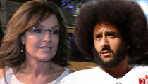 Sarah Palin Says Kaepernick's 'Meals On Wheels' Donation Is Shameless 'Political Stunt'