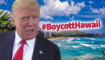 Donald Trump -- Hawaii's Tourism Industry Not Hurt by #BoycottHawaii Hysteria