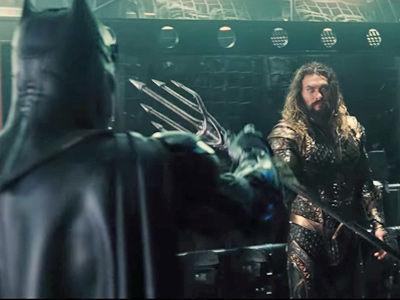 Jason Momoa's Aquaman Looks BADASS Alongside Batman In New 'Justice League' Teaser