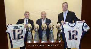Tom Brady Jerseys Returned to Robert Kraft By FBI…