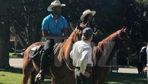 Bachelorette Rachel Lindsay's Bev Hills Horse Date ... Urban Cowboys!