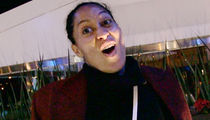 Tracee Ellis Ross Enjoyed Days Off from 'Black-ish' ... THANKS, CHRIS BROWN! (VIDEO)
