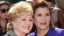 Carrie Fisher & Debbie Reynolds' Public Memorial