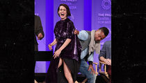 Cuba Goding Jr. Lifts Sarah Paulson's Dress, She Laughs But Fans Don't