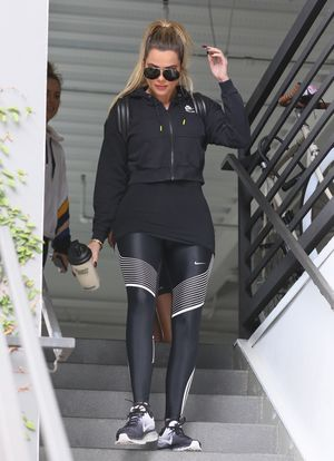 Khloe Kardashian in Tight Spandex