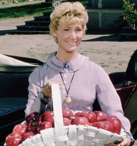 Charlotte Stewart is best known for playing the schoolmarm Miss Beadle in the throwback television show 'Little House on the Prairie.'