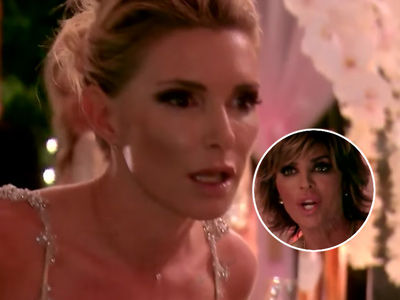 This Latest RHOBH Fight Is Totally INSANE -- See Eden Let F-Bombs Fly as She ATTACKS Lisa Rinna!
