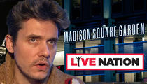 Live Nation Stops Bootlegers from Selling John Mayer Merchandise at MSG