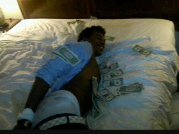 Nick Young's NBA Hazing Photo Surfaces ... Hog-Tied In ...
