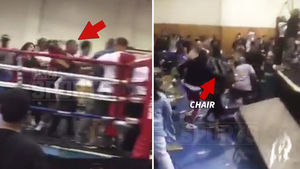 Golden Gloves Ring Brawl ... Fans Attack at Boxing Event